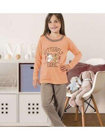Kız Çocuk Pijama Takım Hmd 6041