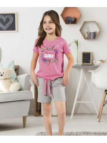 Kız Çocuk Şort Takım HMD 6067