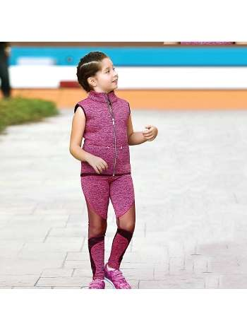 Kız Çocuk Sweatshirt Atlet Tayt Takım Gallipoli 19634