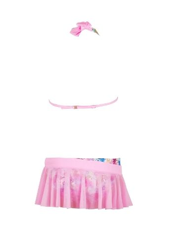 Kom Bonita Kız Çocuk Etekli Bikini