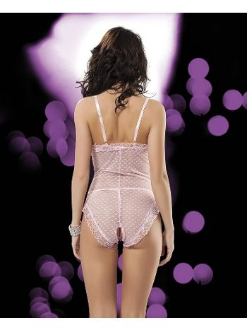Komple Fantezi Gece Kıyafeti Sistina E-814