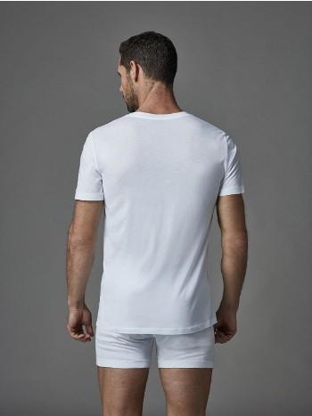 Konpakt Likralı O Yaka T-Shirt Dagi D5120
