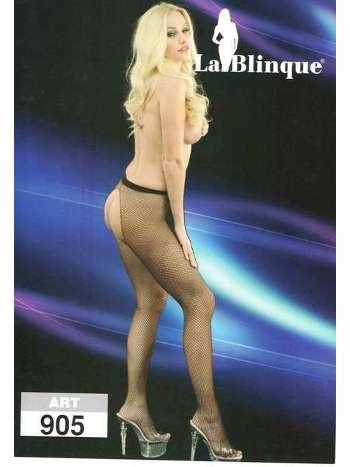 La Blinque Bayan Ağı Açık Külotlu Çorap 905