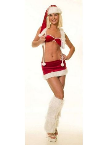 La Blinque Seksi Noel Kostümü 2031