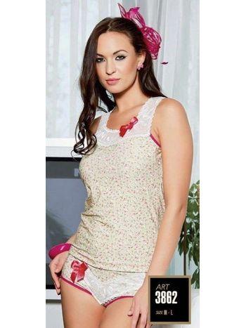 Lady Şortlu Pijama Takım 3862