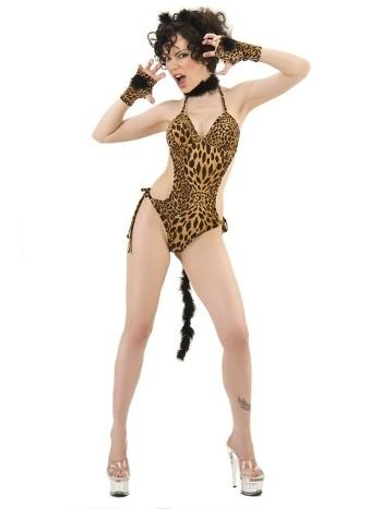 La Blinque Leopar Fantazi Kostümü 6037