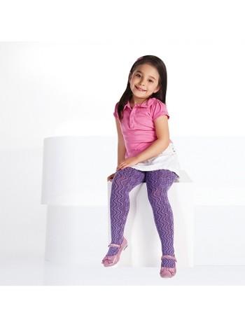 Daymod Lila Çocuk Külotlu Çorap
