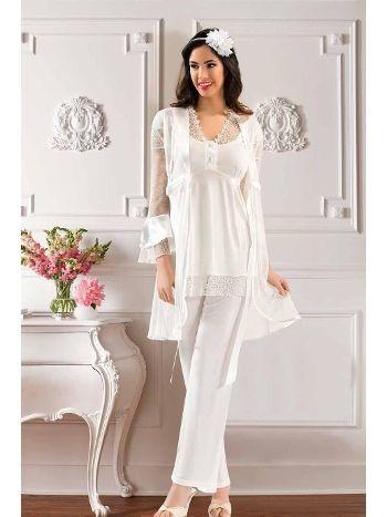 Lohusa Pijama Takım 3 lü XSES 4000