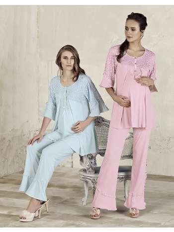 Lohusa Pijama Takım Artış 3301