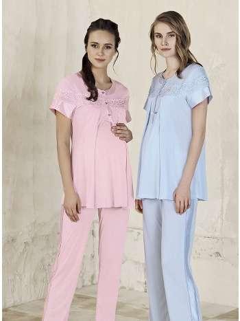 Lohusa Pijama Takım Artış 3303