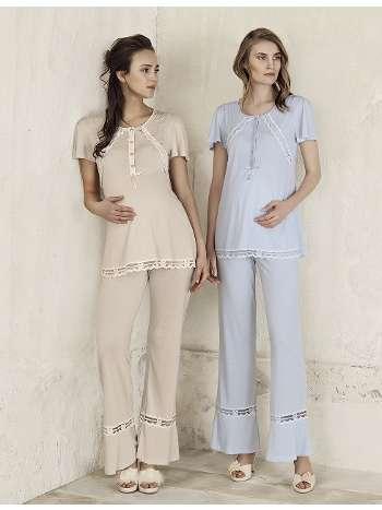 Lohusa Pijama Takım Artış 3304