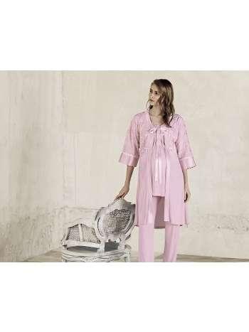 Lohusa Sabahlık Pijama Takım Artış 3406