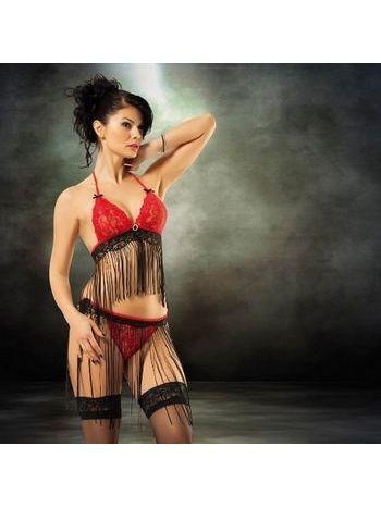 Maranda 5180 Püsküllü Erotik Bikini Takım