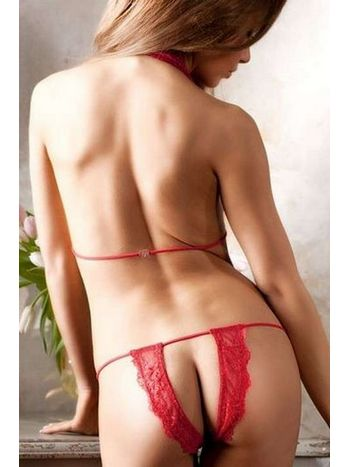 Merry See Kırmızı Fantazi İç Giyim