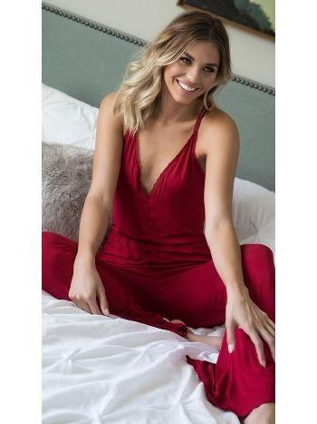 Merry See 3109 Kırmızı Pijama Takım