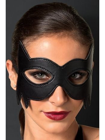 Merry See Siyah Deri Göz Maskesi