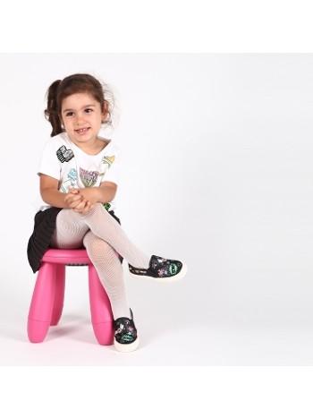 Daymod Rete File Çocuk Külotlu Çorap d2123016