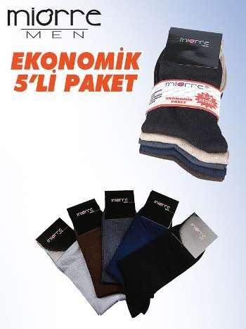 Miorre Çorap Erkek 5 Li