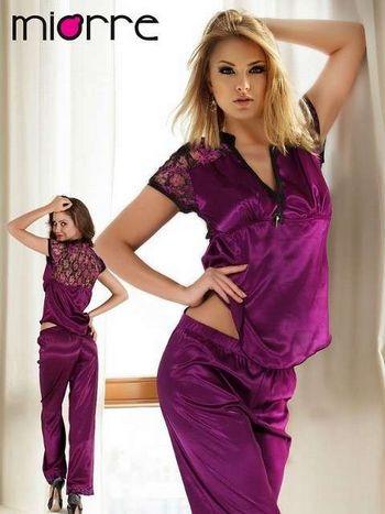 Miorre Saten Pijama Takım Bayan 18524