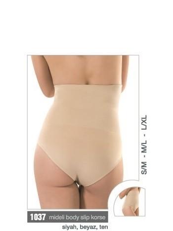 Doğum Sonrası Korse Mideli Body Slip Miss Fit 1037