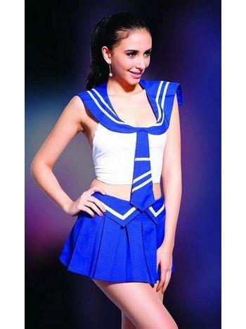 Missvera Denizci Kız Kostümü 9129