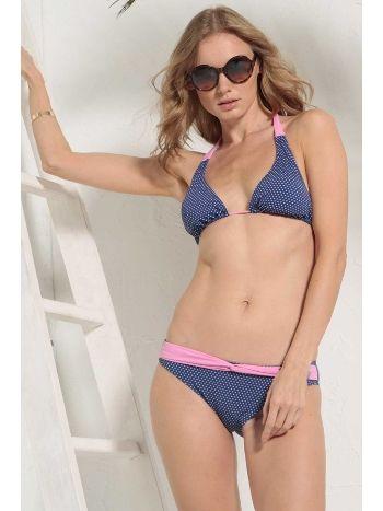 Mite Love Puantiyeli Mavi Bikini ilea