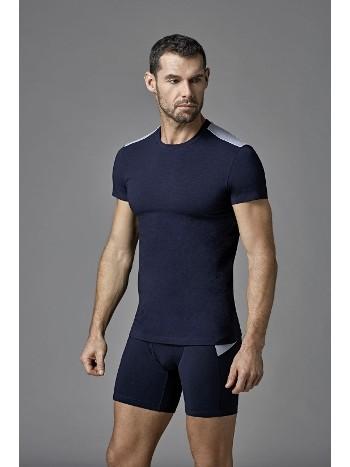 Modal Likralı O Yaka Parçalı T-Shirt Dagi D4620