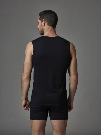 Modal V Yaka Kolsuz T-Shirt Dagi 3560