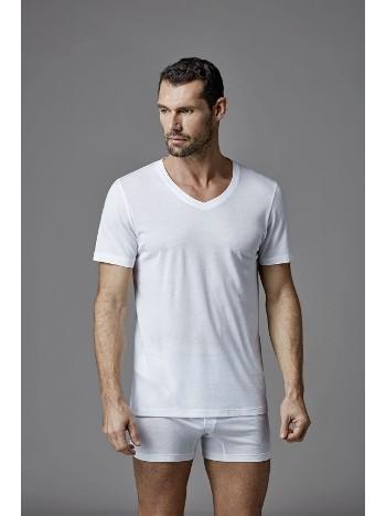 Modal V Yaka T-Shirt Dagi D3530