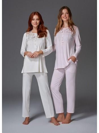 Nevrürlü Fantazi Pijama Takım Bone Club 4421