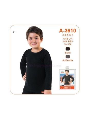 Öztaş Erkek Çocuk Termal Fanila A3610