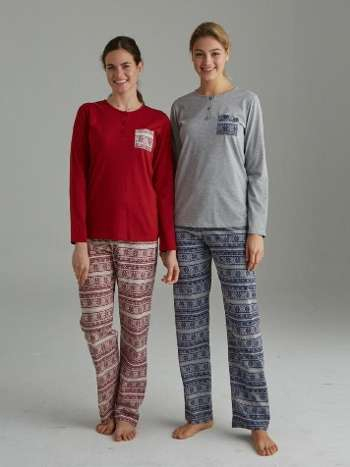Patlı Pijama Takımı Mod Collection 3066