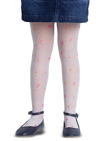 Penti Çocuk ice Cream Külotlu Çorap 10 Beyaz
