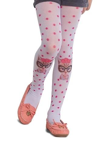 Penti Çocuk Kitty Külotlu Çorap 10 Beyaz