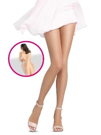Penti Dekolte Parmaksız Külotlu Çorap 57 Ten - (3'lü Paket)