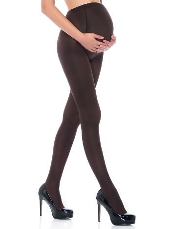 Penti Hamile Külotlu Çorabı 40 Denye 44 Kestane - (3'lü Paket)