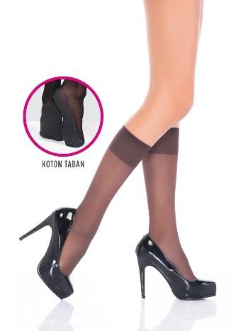 Penti Konfor Pantolon Çorabı 67 Mürdüm (3'lü Paket)