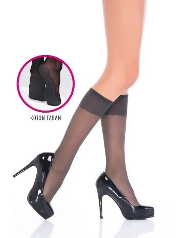 Penti Konfor Pantolon Çorabı 68 Antrasit (3'lü Paket)