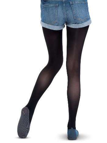 Penti Mikro 40 Koton Taban Külotlu Çorap 500 Siyah - (3'lü Paket)