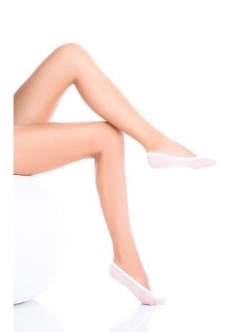 Penti Naylon Babet Çorabı 10 Beyaz (3'lü Paket)