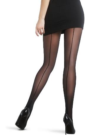 Penti Nostalji Külotlu Çorap 500 Siyah - (3'lü Paket)