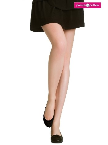 Penti Pamuklu Babet Çorabı 500 Siyah (3'lü Paket)