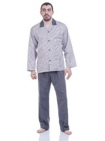 Penyeteks Erkek Pijama Takım T10_v1 Ekose