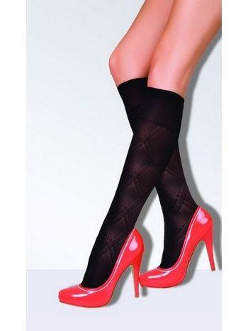 Daymod Petek Desenli Dizaltı Çorap
