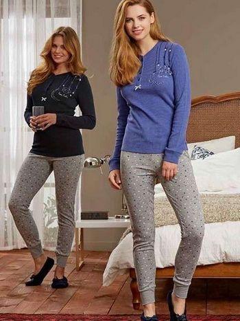 Pierre Cardin 0 Yaka Patlı Pijama Takımı