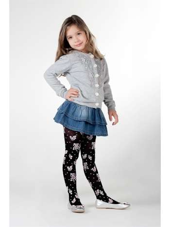Daymod Pıtırcık Desenli Külotlu Çocuk Çorabı
