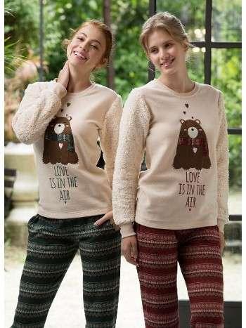 Polar 2 Li Pijama Takım Feyza 3136