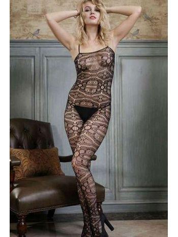 Redhotbest Sofistike Desenli Seksi Vücut Çorabı