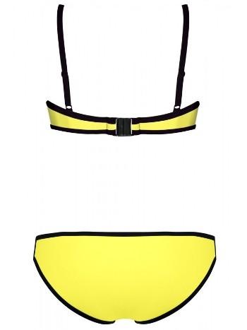 Renkli Altı Sarı Özel Tasarım Bikini