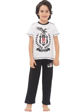 Roly Poly 4420 Beşiktaş Erkek Çocuk Pijama Takım
